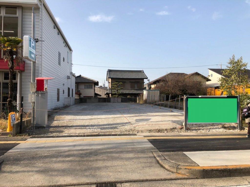 愛知県名古屋市 コインパーキング新設工事