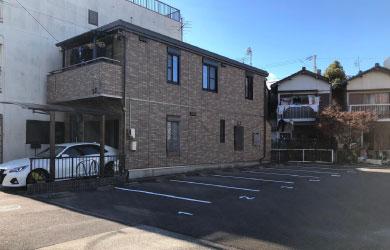愛知県日進市 駐車場白線ライン工事