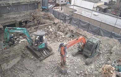 愛知県名古屋市 RCビルの建物解体