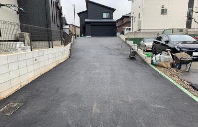 愛知県刈谷市 アスファルト舗装工事