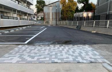 愛知県名古屋市 駐車場への乗り入れ工事